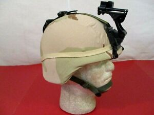 US Army PASGT Ground Troop Helmet made w Kevlar amp; Cover w NVG Bracket X Small #6 $169.99