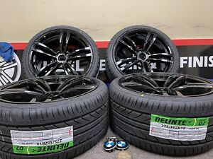 19 Staggered Wheels Rims Fit Bmw Set Rims 5x120 120 6 Wheels And Tires