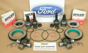 Front Axle Seal U Joint Ball Joint Kit Dana Super 60 Ford F250 F350 05 15 Fits 2009 Ford
