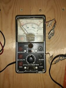 Vintage Model 70 Utility Tester Superior Instruments Co Not Functioning