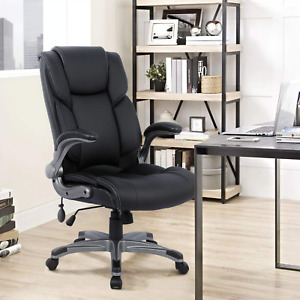 Ergonomic Big And Tall Executive Office Chair With Upholstered Swivel 275 Lbs
