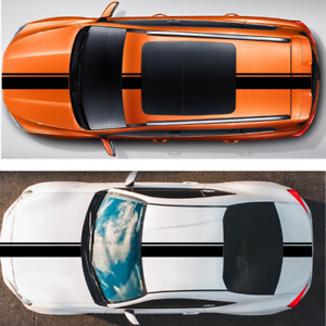 Racing Hood Stripes Decal Vinyl Stickers For Car Suv Truck Universal Decoration Fits Honda