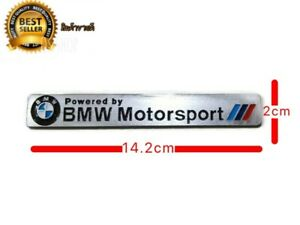 Logo Badge Bmw Motorsport Powered By Size 14 2 X 2 Cm Is An Aluminum Work Easy