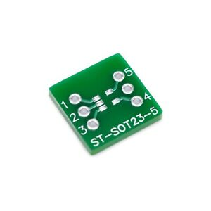 Sot23 5 5 Pin Smd To Dip Adapter Pcb Breadboard Adapter St sot23 5 5 Pieces