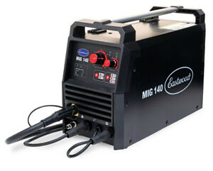 Eastwood 140 Amp Mig Welder 120v Tweco style Torch Unit For Metal Thin Steel
