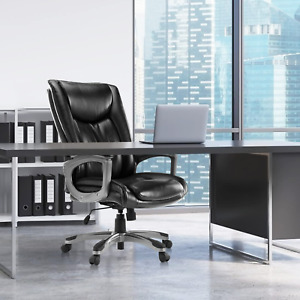 Executive Office Chair Conference Computer Desk Chair Adjustable Height Swivel