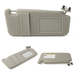 Beige Sun Visor Set Right Amp Left Fit For Toyota Camry With Vanity Light 2007 2011 Fits Toyota Camry