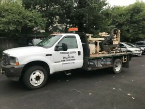 Geoprobe 6600 Mounted On 2004 Ford 550