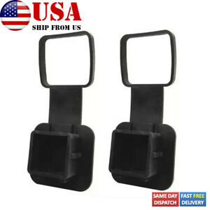 2pcs 2 Factory Tow Trailer Hitch Cover Plug Pt228 35960 Hp For Jeep Toyota Ford