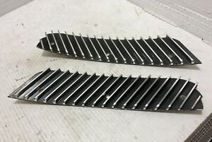 Corvette 1962 Side Cove Mouldings Pair 62 Only Used Original Gm