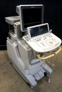 Philips Ie33 Ultrasound Machine With 2 Probes s5 1 x3 1