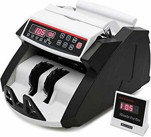 Money Counter With Uv mg ir Detection Counterfeit Bill Counting With Big Disp