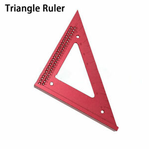 Line Ruler Positioning Squares 90 Degree Triangle Ruler Clamps Woodworking Tools