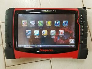 Snap On Verus Pro D10 Eehd301 6 Diagnostic Scan Tool W European Asia Adapters