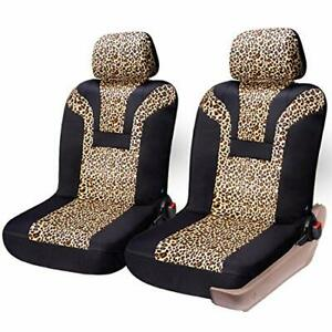 Coolbebe Leopard Car Seat Covers Cheetah Pattern Integrated Auto Seat Cover