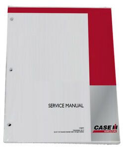 Case Ih D Series Power Take off Eagle Hitch Tractor Service Repair Manual