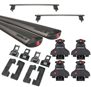 Rola Roof Rack Cross Bars For 11 21 Jeep Grand Cherokee For Cargo Kayak Luggage