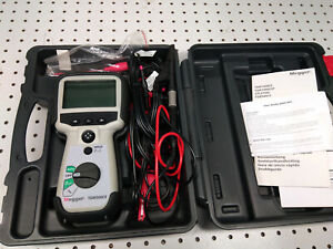 Megger Tdr500 3 Handheld Time Domain Reflectometer W Extra Cables