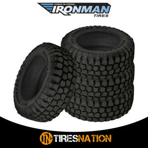 4 New Ironman All Country Mt 3157516 127124q Mud Terrain Tire Fits 31575r16