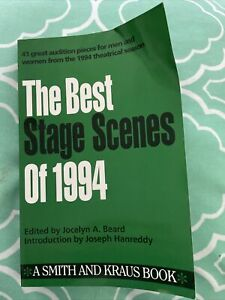 The Best Stage Scenes Of 1994 $1.25