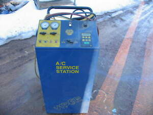 Pf A c 800 Service Station R 134a Refrigerant Recovery Recycling Machine