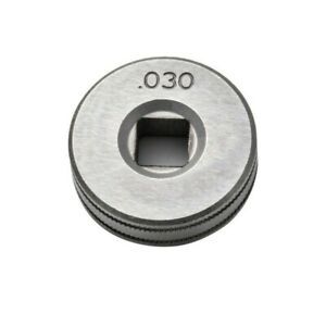 Mig Welder Wire Feed Drive Roller 0 8 0 9 Kunrled groove 030 035 For Clarke