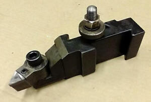 Aloris Ca 22 Turning Facing Quick Change Tool Post Holder Carbide Indexable