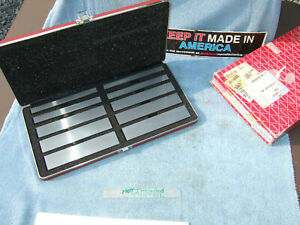 Starrett 384 Parallel Set 1 2 In Thick Machinist Jig Bore Mill Grind Inspect 2a
