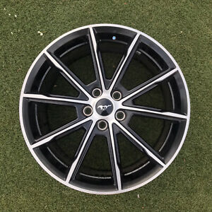 19 Inch Ford Mustang 2018 2020 Oem Factory Original Alloy Wheel Rim Only 10160