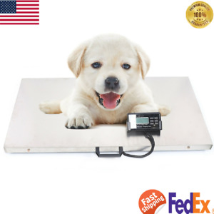 Digital Veterinary Scale Pet Weight Scale Dog Animal Weight Lcd Screen Kg oz lb