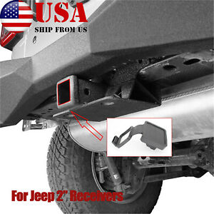 2 Trailer Tow Hitch Receiver Cover Plug Dust 82208453ab For Jeep Accessories Us
