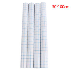 Transparent Tack Vinyl Transfer Application Paper Tape Roll For Signage Cr Oh