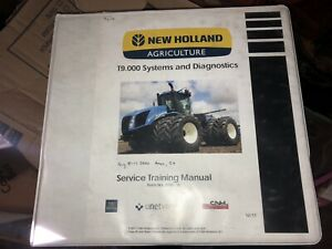 Case Ih Steiger Quad 350 600 370 620 Nh T9 000 Tractor Service Training Manual
