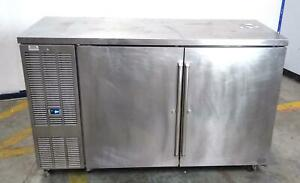 Perlick Bbs60 ro 60 Two Doors Refrigerated Self contained Cooler Working
