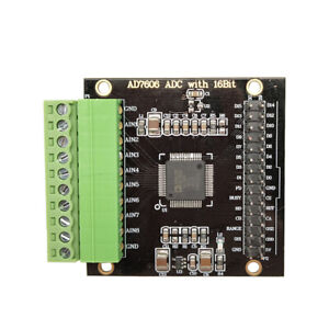Ad7606 Ad Data Acquisition Module 16 Adc 8 way Synchronization 200khz Sampling