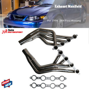 Ls Conversion Swap Headers For 1979 1993 Fox Body 1994 04 Ford Mustang 4 8l 5 3l