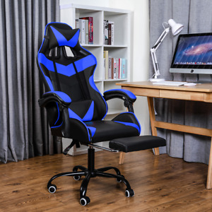 Racing Style Gaming Chair High back Pu Leather Executive Office Chair Swivel Rol