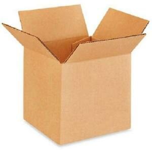 25 6x6x5 Cardboard Paper Boxes Mailing Packing Shipping Box Corrugated Carton