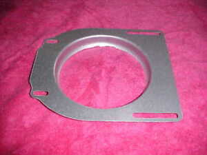 Hilborn Style Air Scoop Cleaner Custom Lower Mounting Plate Rat Rodmost Carbs
