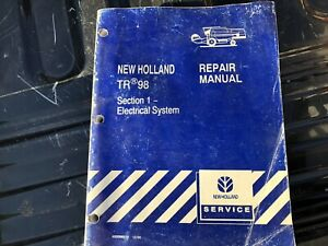 New Holland Tr98 Combine Factory Repair Manual Electrical System