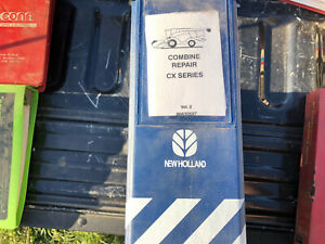 New Holland Cx Series Combine Factory Electrical Fault Codes Repair Manual Oem