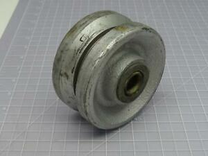 Albion Vg0420019 2 In Face Cast Iron Caster Wheel T178836