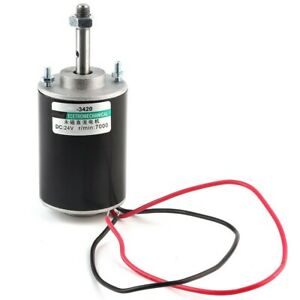 Xd 3420 12 24v 30w High Speed Cw ccw Permanent Magnet Dc Motor For Diy Generator