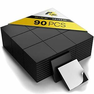 Magnetic Squares Flexible Magnetic Sheet Of 90 Self Adhesive Magnetic Squares