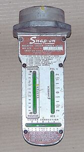 Snap On Model Wa 60e Magnetic Caster Camber Gauge