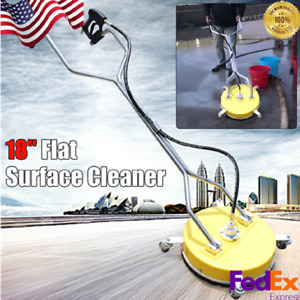 18 High Pressure Cleaner Stainless Steel Flat Surface Cleaner For Pressure Wash