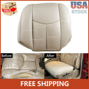 Fits Chevy Suburban Tahoe 1500 2003 2004 2005 2006 Driver Bottom Seat Cover Tan