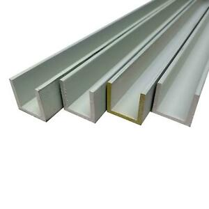 6063 t52 Aluminum Channel 1 X 1 X 1 8 X 12 Inches 4 Pack