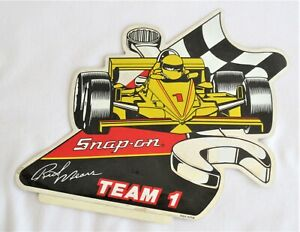 Snap On Tools Rick Mears Team 1 Indy Car Foil Sticker Decal