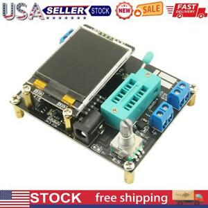 Gm328a Transistor Tester Diode Capacitance Esr Voltage Frequency Meter Pwm